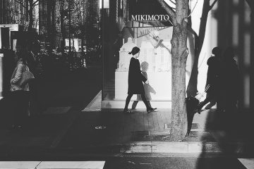 Ginza street photography by iPhone